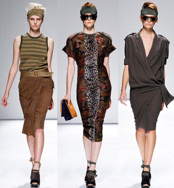 Женская коллекция одежды от MaxMara, весна-лето 2013