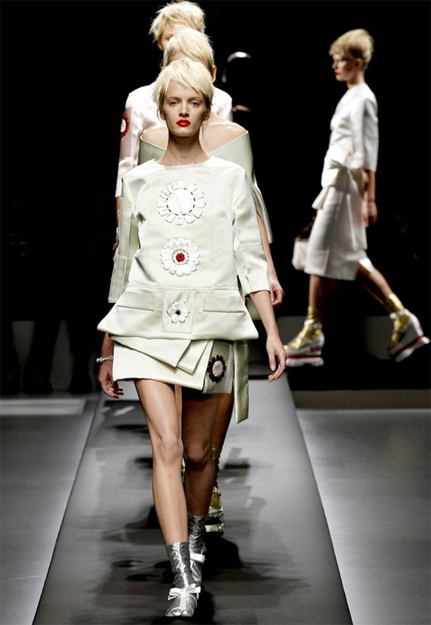 Показ весенне-летней коллекции от Prada