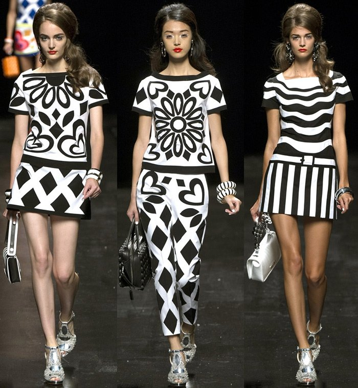Moschino - мода весна-лето 2013