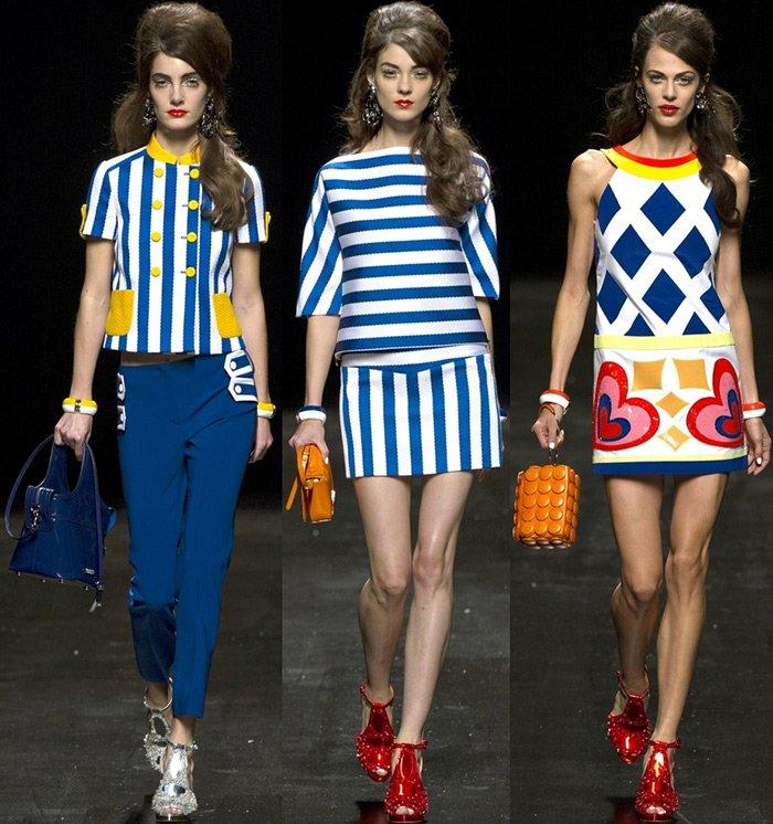 Модная одежда весна-лето, бренд Moschino