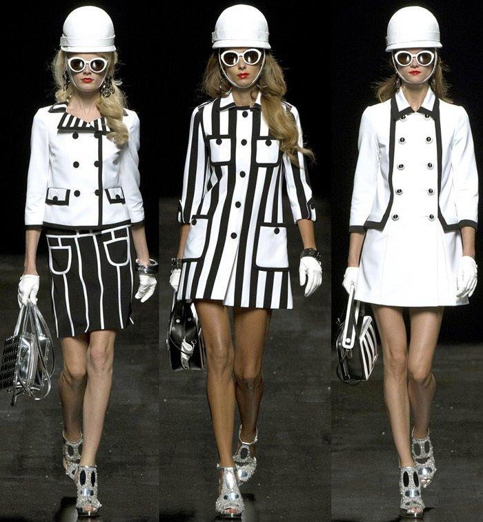 Мода весна-лето 2013, коллекция Moschino