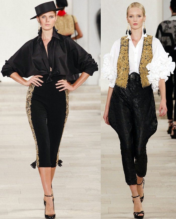 модная женская одежда Ralph Lauren весна-лето 2013
