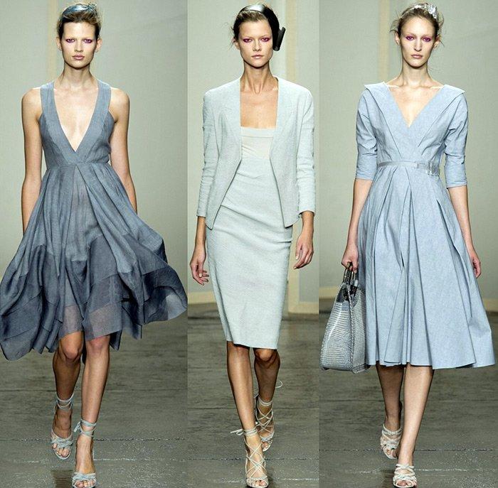 Модная одежда Donna Karan, весна-лето 2013 фото