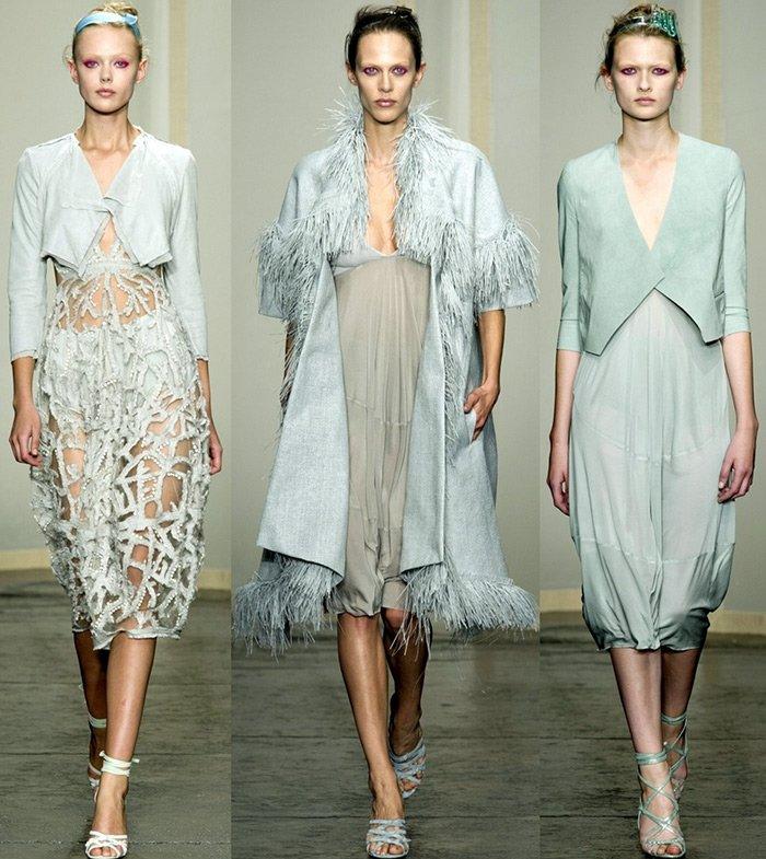 Donna Karan, коллекция весна-лето 2013