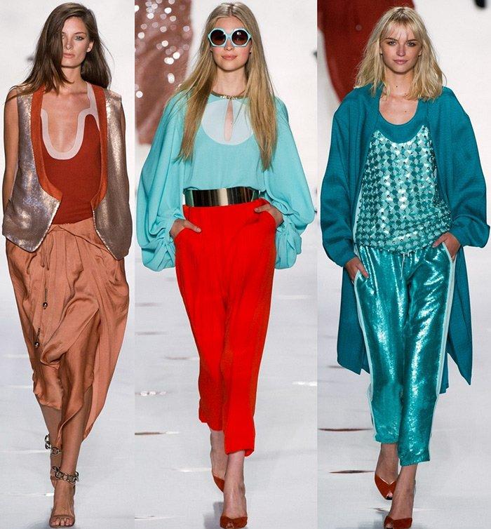 Модная одежда весна-лето 2013 Diane von Furstenberg