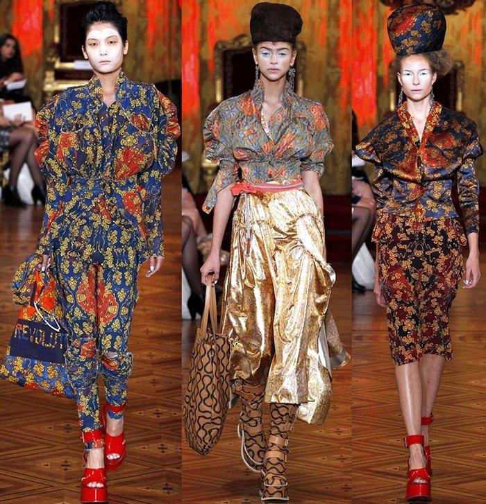 модная женская одежда Vivienne Westwood весна-лето 2013