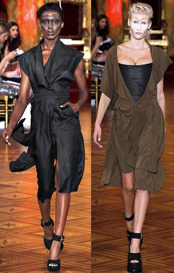 Показ дизайнера Вивьен Вествуд, мода весна-лето 2013