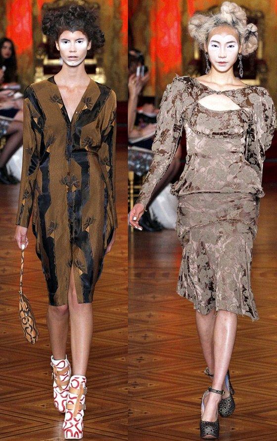 Вивьен Вествуд, коллекция весна-лето 2013, платья фото