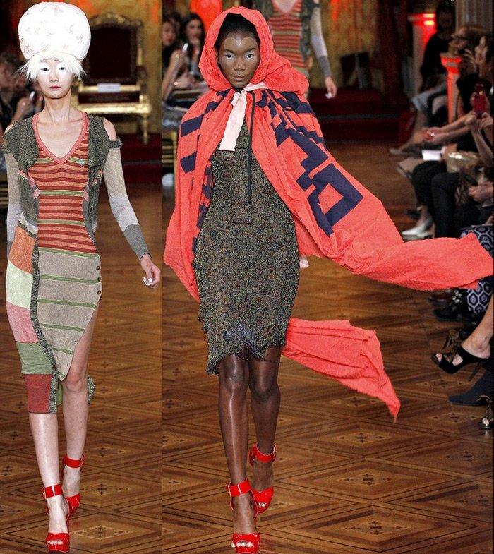 Vivienne Westwood платья весна-лето 2013 фото