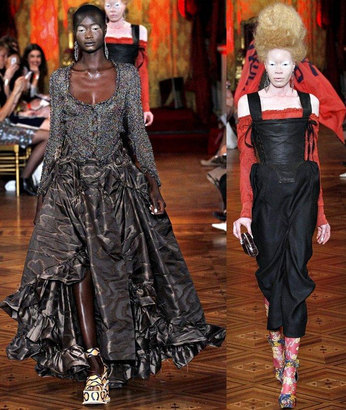 Парижская неделя моды, дизайнер Вивьен Вествуд