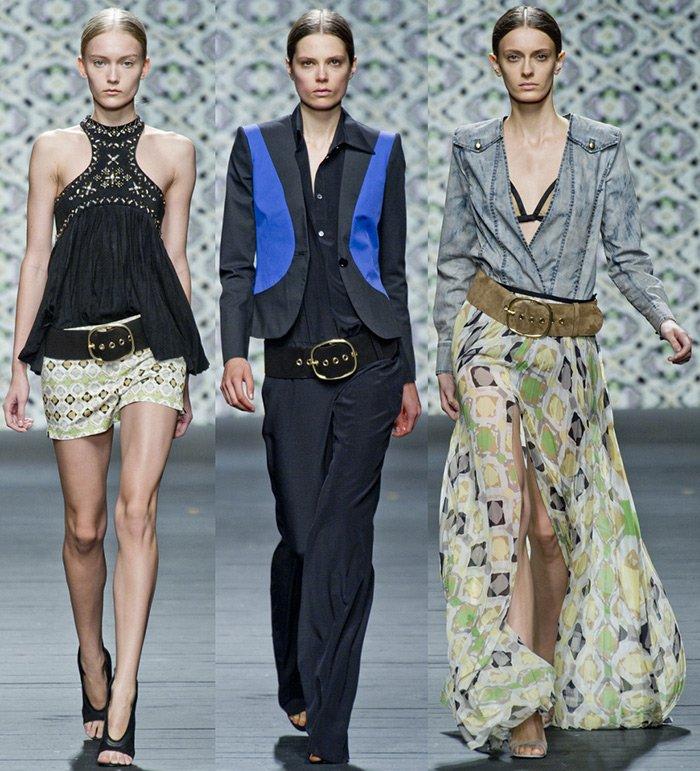 модная женская одежда Iceberg весна-лето 2013