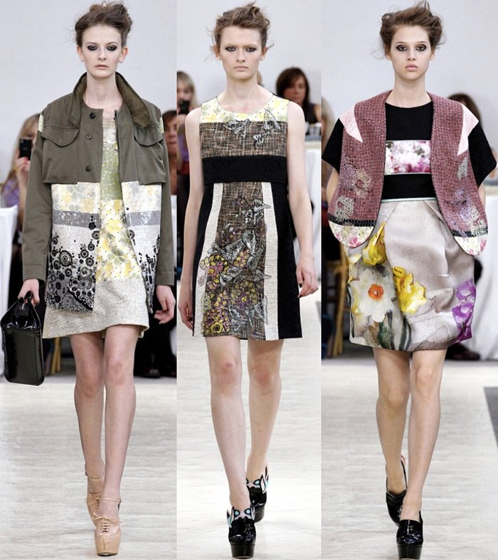 Модная одежда весна-лето 2013 от дизайнера Антонио Марраса