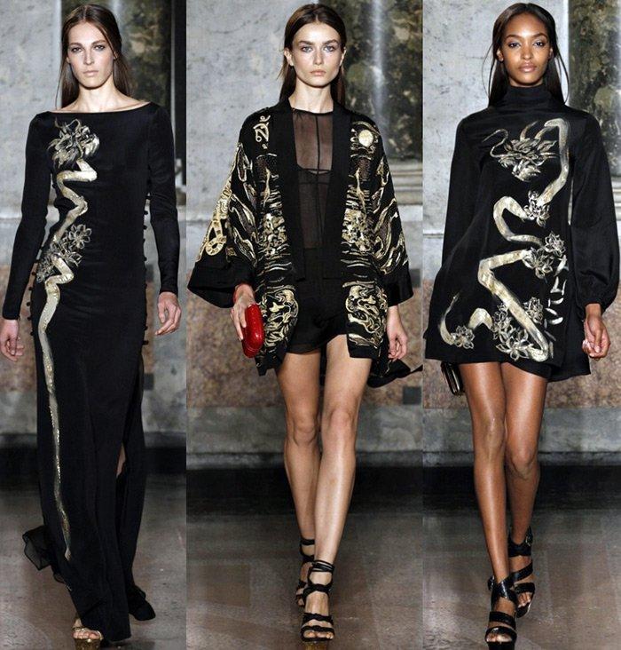 Мода весна-лето 2013, фото коллекции Emilio Pucci