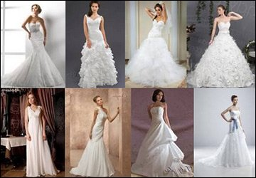 Белые свадебные платья