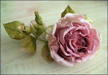Цветы из ткани - инструменты