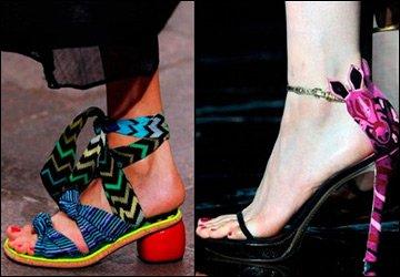 Модные босоножки 2011