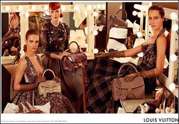 Наталья Водянова и Louis Vuitton