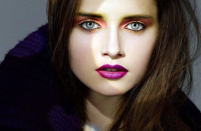 Гламурный макияж фото