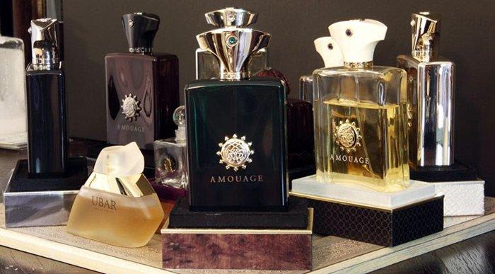 Духи Amouage коллекция парфюмерии, фото