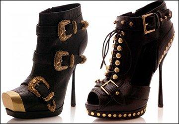 Alexander McQueen Spring 2011 heels
