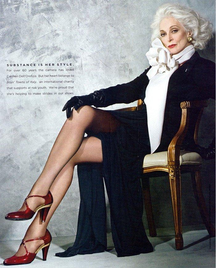 Кармен Делл Орефис, фото уникальной модели