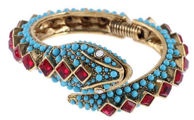 Ювелирные украшения, змея браслет, фото