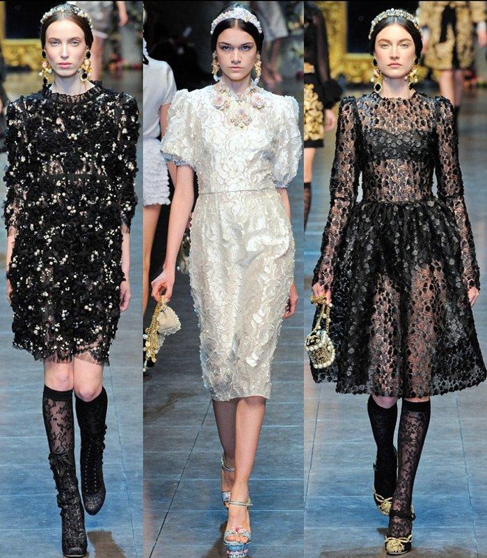 Платья от Dolce & Gabbana фото