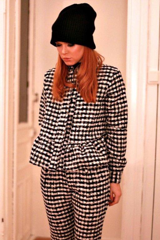 Модные вязаные шапки, ангора фото