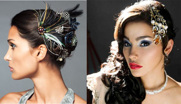 Модные украшения для волос к празднику и на каждый день. Если вы отмечаете Новый  Год ... 4f6da34d7ab