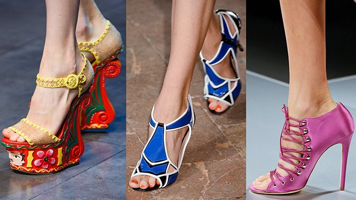 Модная обувь весна–лето 2013