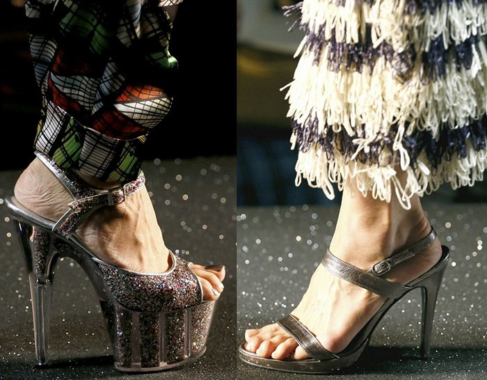 обувь Jean-Paul Gaultier весна-лета 2013