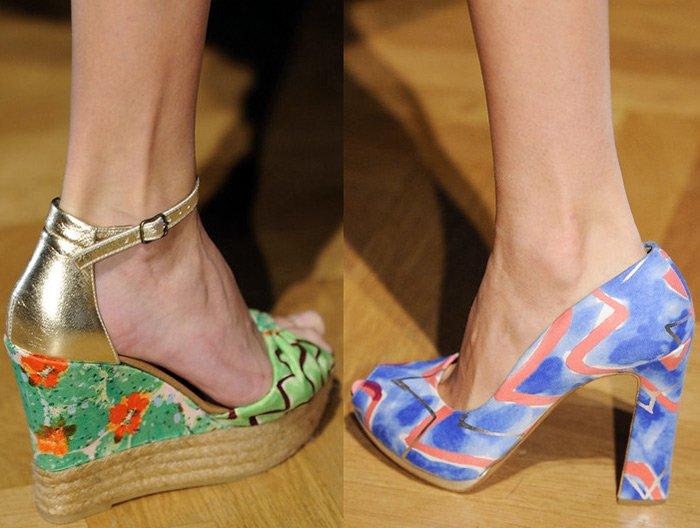 Модная женская обувь весна–лето 2013, туфли, ботильоны – фото 3011a223ab8
