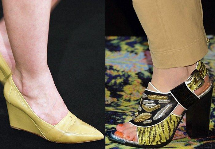 обувь Кензо и Гермес, весна-лето 2013 фото