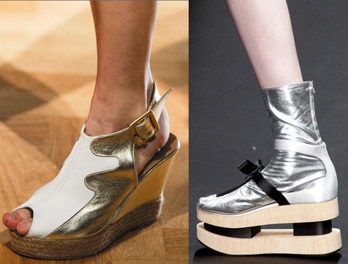 обувь на платформе весна-лето 2013 фото. Модная женская обувь ... 4122042be24