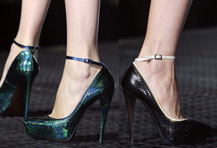 Модная женская обувь коллекция Lanvin весна-лето 2013