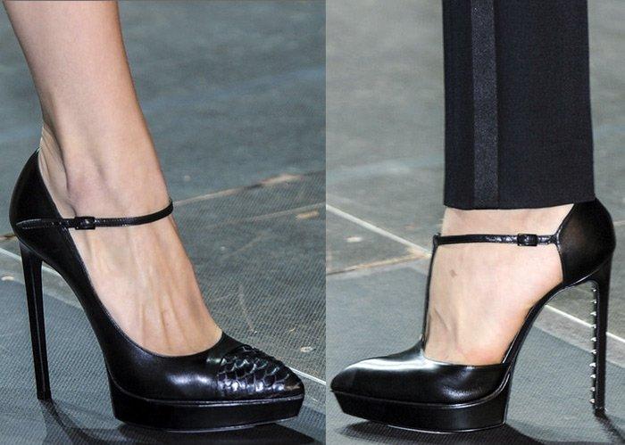 Модная обувь Saint Laurent весна-лето 2013 фото