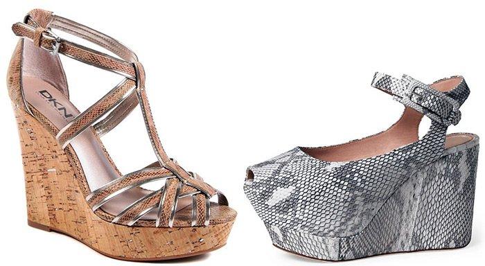 Обувь из змеиной кожи популярна в 2013 году