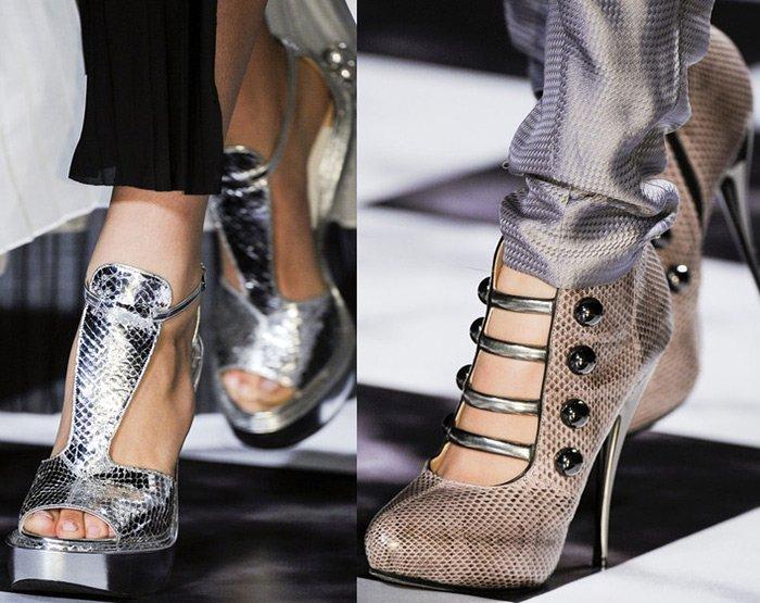 Обувь Victor & Rolf весна-лето 2013 фото