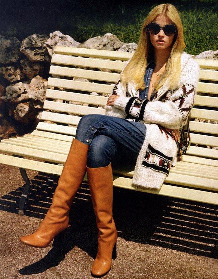 Фотография топ-модели Лары Стоун