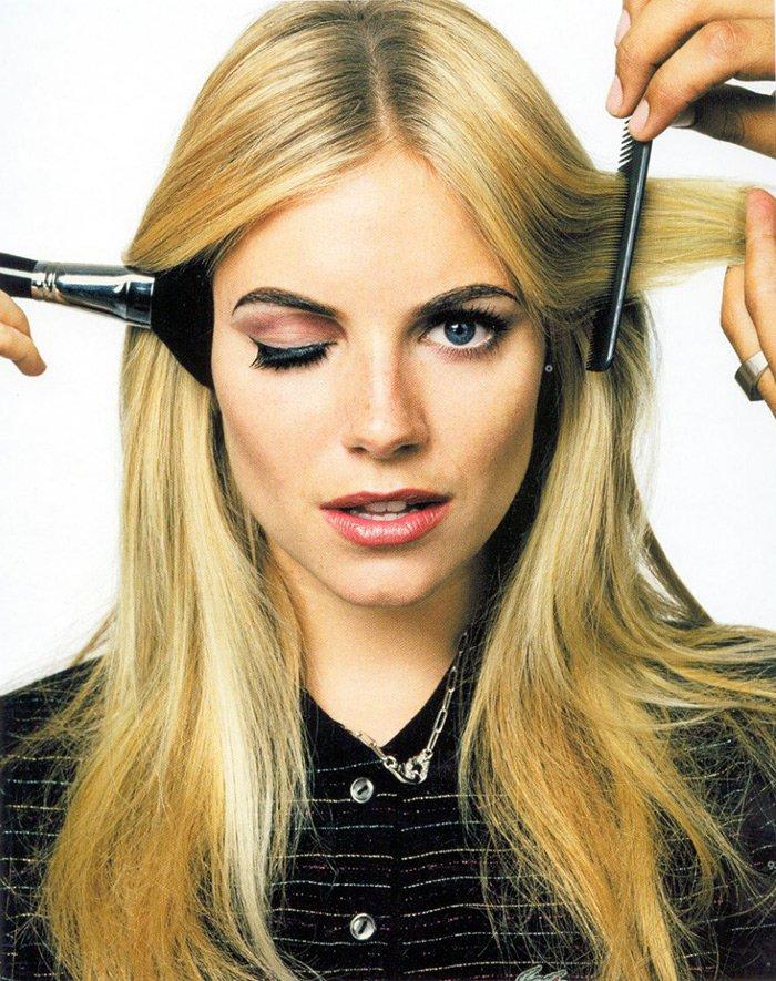 Сиенна Миллер макияж - фото