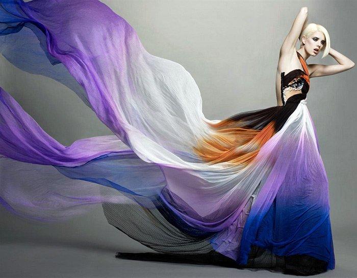 Агнесс Дейн и красивое платье