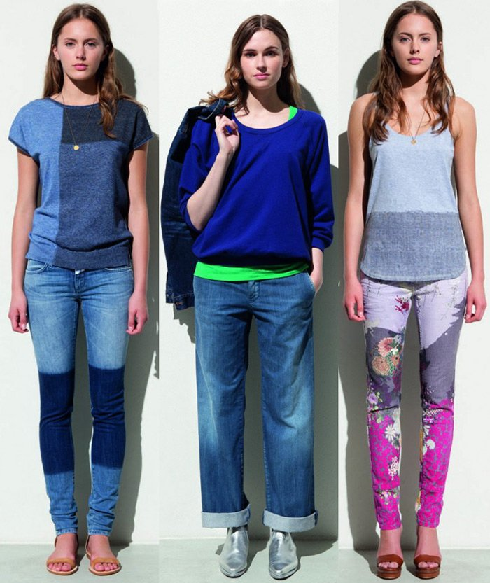 Модные женские джинсы сезона весна-лето 2013