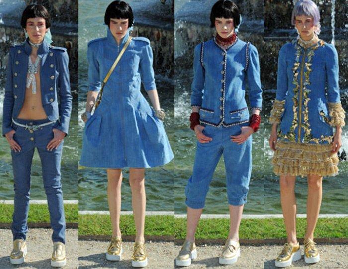 Фасоны джинсов Chanel фото