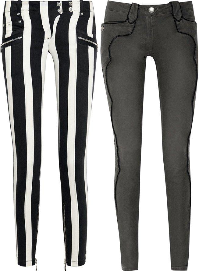 женские джинсы Balmain, Isabel Marant 2013