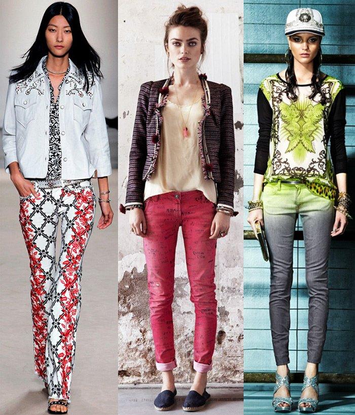 Модные женские джинсы 2013, фото