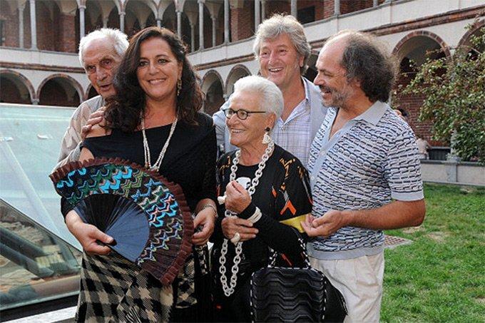 семья Миссони фото