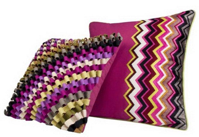 Домашний текстиль Миссони - узор зигзаг фото
