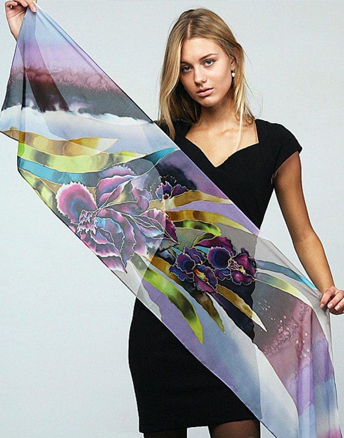 Как правильно и красиво носить шарф фото