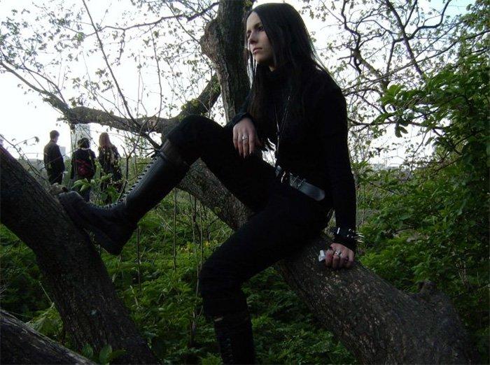 Готическая девушка, фото