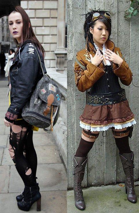 Девушка панк фото
